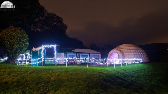 Igloo Disco and marquee hire