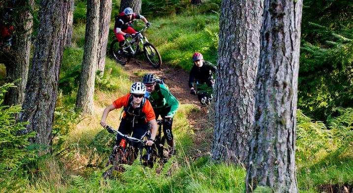 Mountain biking 18th birthday party ideas